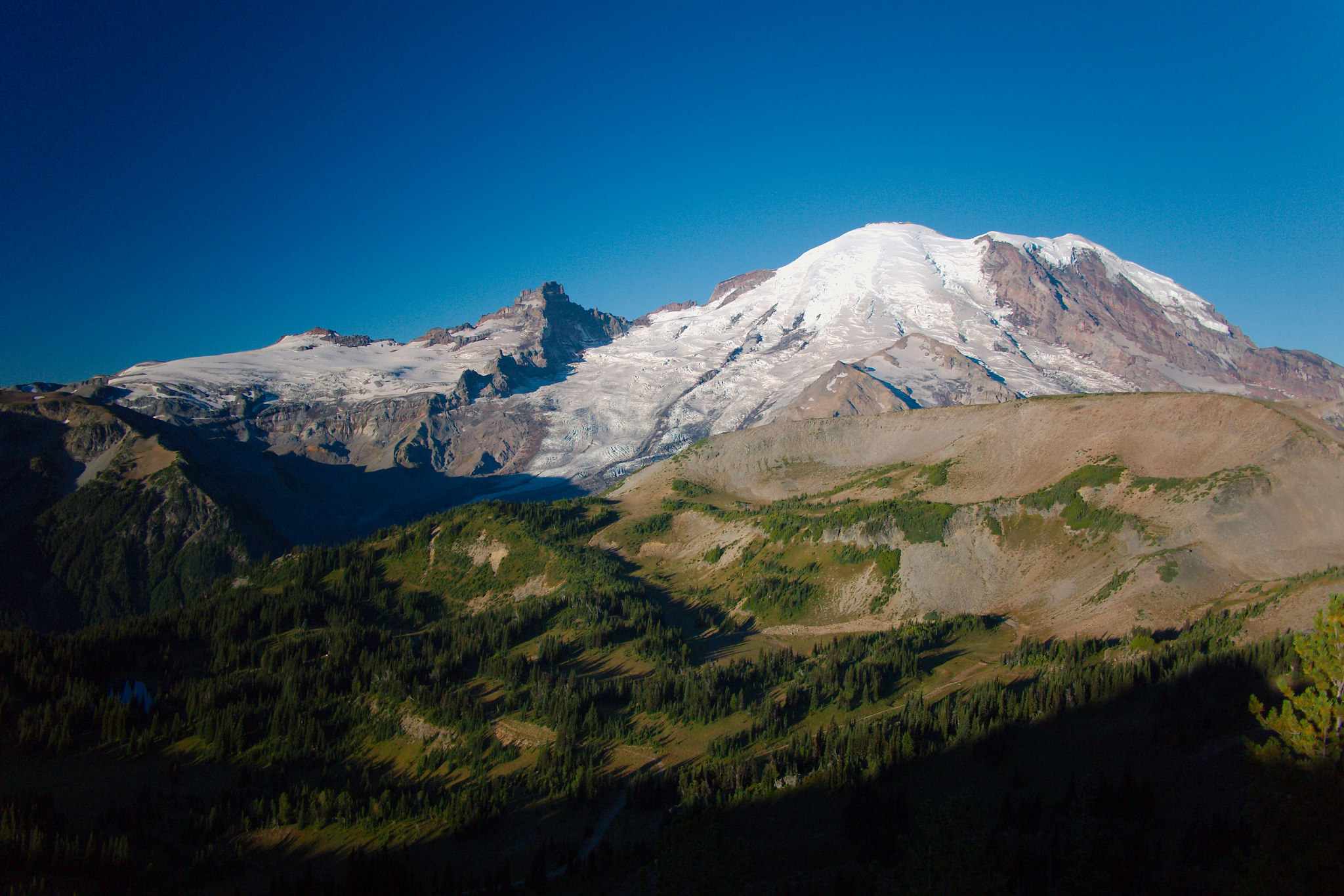 Mt. Rainier ráno